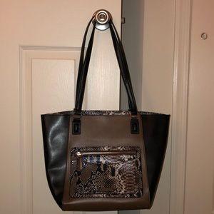 Vera Bradley leather tote